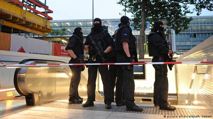 Поліція заблокувала вхід до метро в Мюнхені