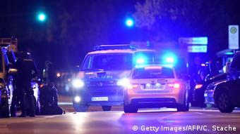 Deutschland Olympia Einkaufszentrum in München Polizei NEU