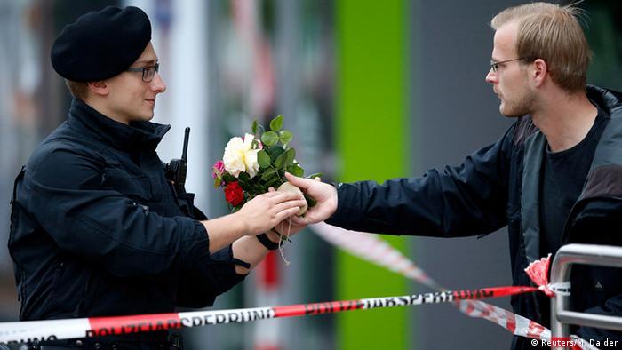 Tödliche Schießerei in München (Foto: Reuters)