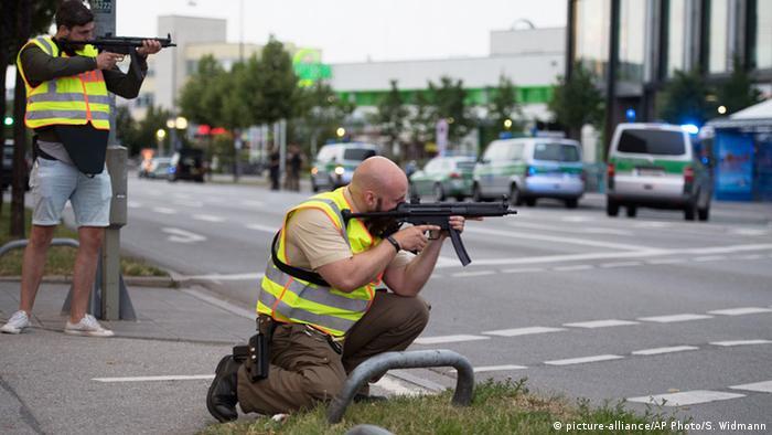 Atentat u Münchenu - Obračun policije s napadačem