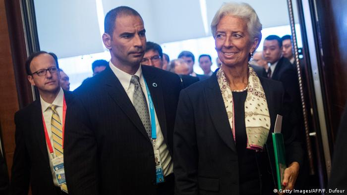 China G20 Treffen Christine Lagarde in Chengdu