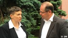 Ukraine Nadija Sawtschenko im Interview in Kiew