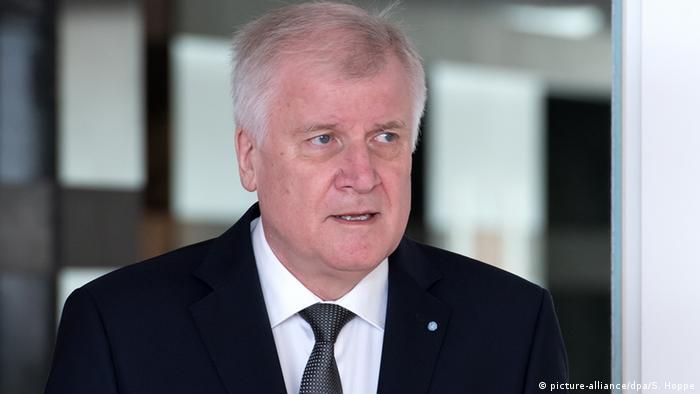 Deutschland Ministerpräsident Horst Seehofer in München