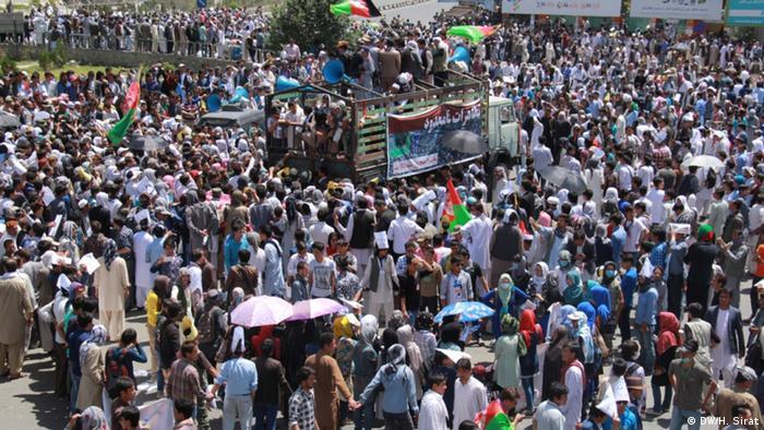 معترضان اقلیت هزاره در کابل