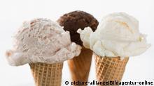 Eis in der Waffel Copyright: picture-alliance/Bildagentur-online