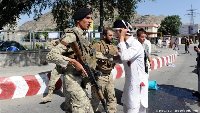 Afghanistan Kabul Selbstmordattentat