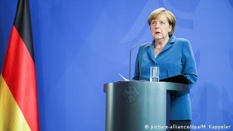 Nach Schießerei in München Angela Merkel