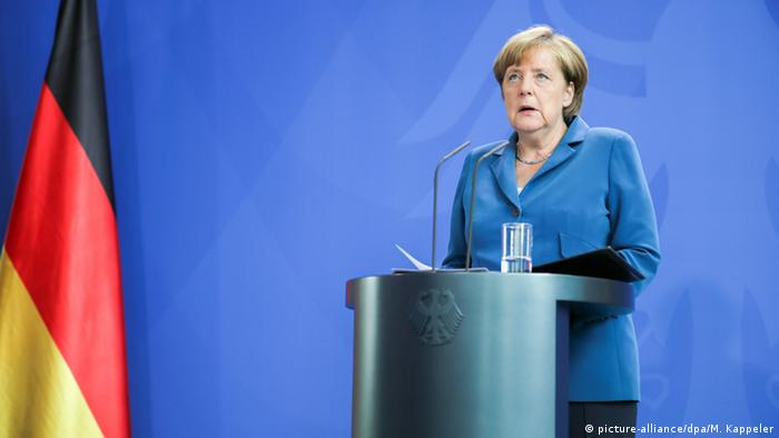 Bundeskanzlerin Angela Merkel (Foto. dpa/picture alliance)