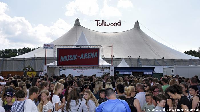 Nach Schießerei in München - Tollwood Festival abgesagt (Foto: picture-alliance/Geisler-Fotopress)