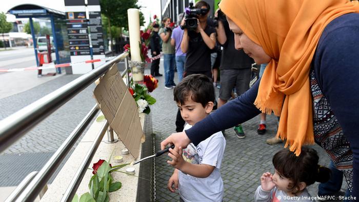 Nach Schießerei in München (Foto: Getty Images/AFP)