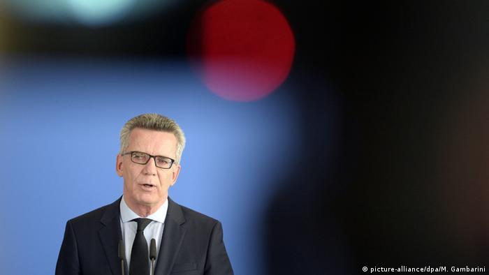 Nach Schießerei in München Bundesinnenminister Thomas de Maiziere