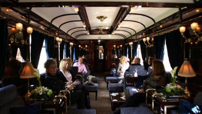 Interior Of The Venice Simplon Orient Express In Art Deco Style Picture
