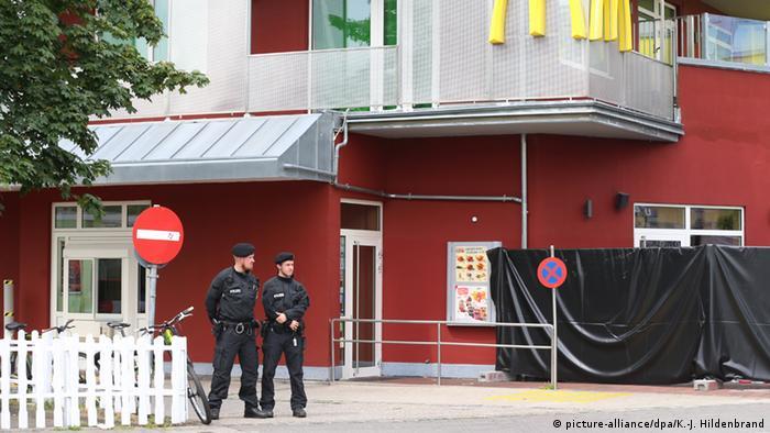 Nach Schießerei in München: Tatort (Foto: picture-alliance/dpa)
