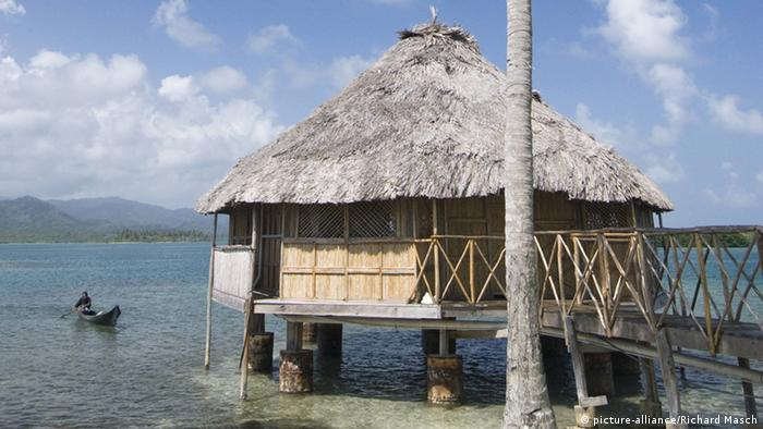 Panama Traditionelle Hütte