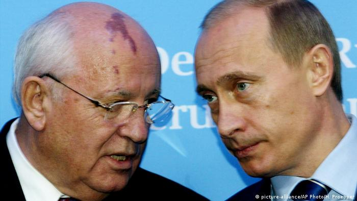 Wladimir Putin mit Michail Gorbatschow
