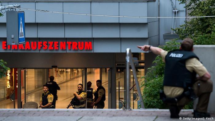 Schießerei in München (Getty Images/J. Koch)