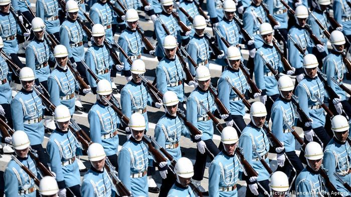 Президентська гвардія під час військового параду в Анкарі (архівне фото)