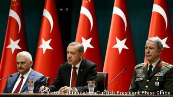 Türkei Präsident Recep Erdogan Yildirim Akar