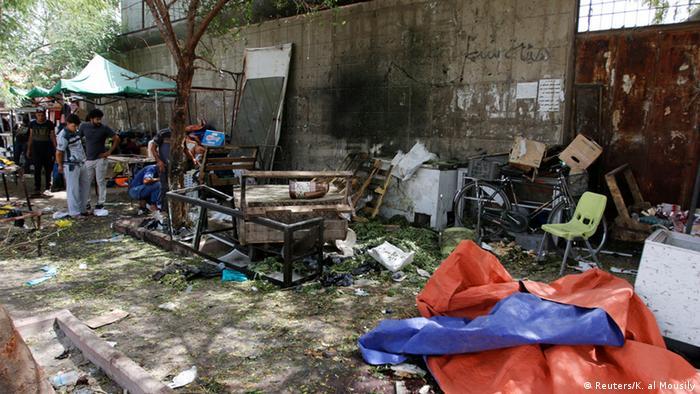 Irak Bagdad Selbstmordattentat (Reuters/K. al Mousily)