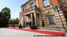 Bayreuther Festspiele Roter Teppich Eröffnung 2012