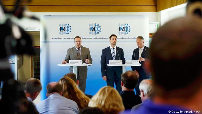 Deutschland Pressekonferenz des Landeskriminalamtes zum Amoklauf in München