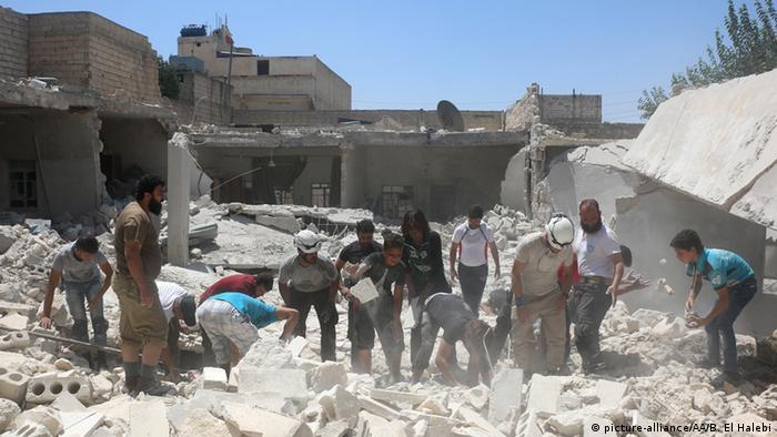 Syrien Angriffe Aleppo