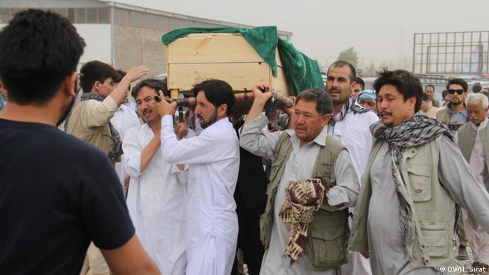 Afghanistan Kabul Selbstmordattentat Beerdigung