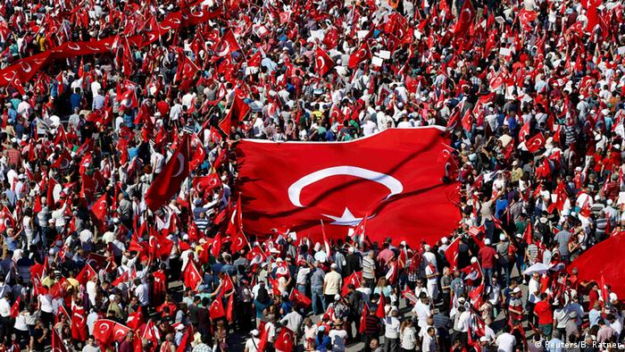 Erdogan supporters have been out in full force since the coup attempt