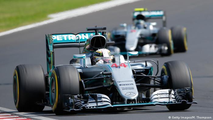 Ungarn Formel 1 Lewis Hamilton gewinnt Großen Preis von Ungarn (Getty Images/M. Thompson)