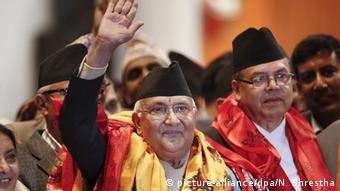 Nepal Premierinister Khadga Prasad Sharma Oli tritt zurück