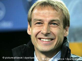 German coach Klinsmann doesn't have many reasons to smile just before the start of the World Cup 2006.
