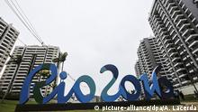 23.06.2016 FILE - epa05386599 A general view over buildings in the Olympic Village during a media tour in Rio de Janeiro, Brazil, 23 June 2016. The Rio 2016 Summer Olympics are held from 05 to 21 August 2016. EPA/ANTONIO LACERDA (zu dpa-Meldung: «Probleme mit Olympischem Dorf in Rio - Beschwerden von Delegationen» vom 24.07.2016) +++(c) dpa - Bildfunk+++   (c) picture-alliance/dpa/A. Lacerda
