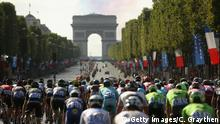 Tour de France Paris Arc de Triomph