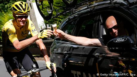 Tour de France Team Sky Christopher Froome und Dave Brailsford