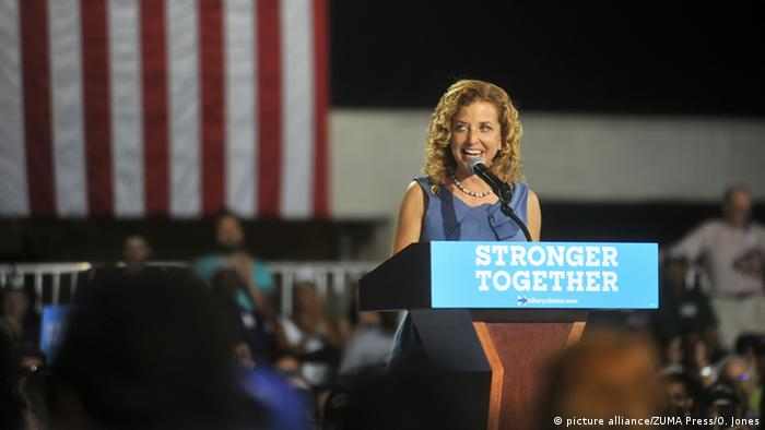 USA Debbie Wasserman Schultz Foto: alliance/ZUMA Press/O. Jones