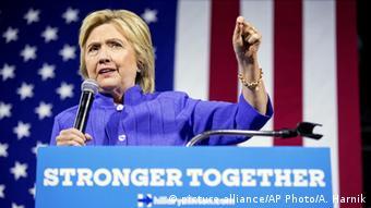 Clinton applauded Wasserman Schultz's leadership of the DNC, calling her a longtime friend