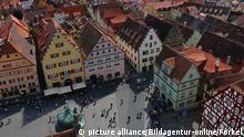 Deutschland Rothenburg Stadtansicht