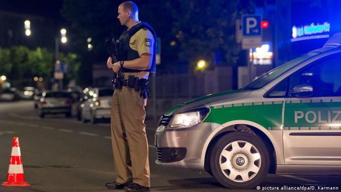 Полиция в Ансбахе