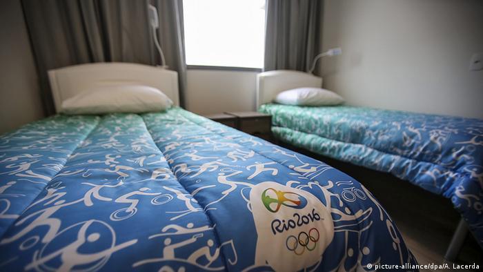 Braislien Olympisches Dorf in Rio Schlafzimmer Innenansicht