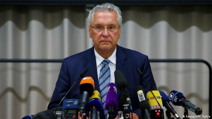 Глава МВД Баварии Йоахим Херрман