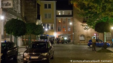 Deutschland Explosion in Ansbach bei Nürnberg