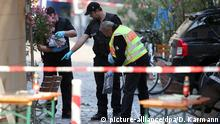 Deutschland Bombenanschlag in Ansbach