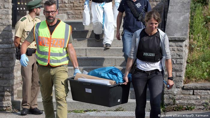 Investigações após ataque em Ansbach