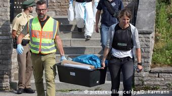 Поліція обшукала помешкання нападника з Ансбаху