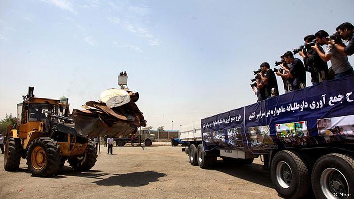 Satellitenschüssel Iran