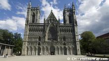 ***ACHTUNG: Verwendung nur zur mit den Rechteinhabern abgesprochenen Berichterstattung.*** Das spirituelle Zentrum der Christen in Norwegen ist der protestantische Nidaros-Dom in Trondheim (c) CH - visitnorway.com