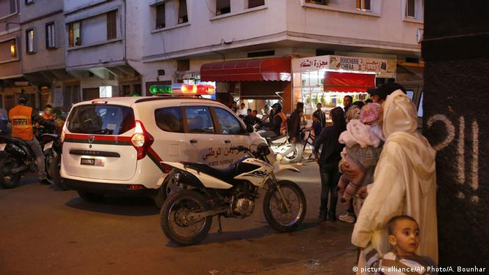Archivbild Marokko Polizei Drogenhandel