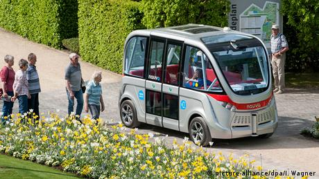 Autonom fahrender Elektrobus Arma von Navya