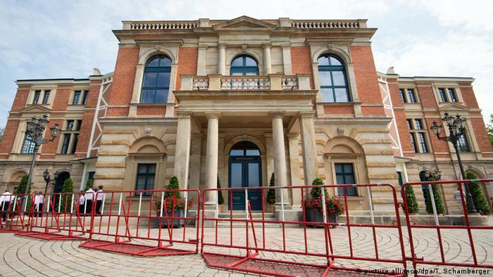 Deutschland Festspielhaus in Bayreuth (picture alliance/dpa/T. Schamberger)