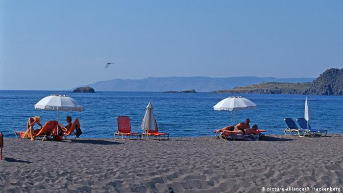 Griechenland - Lesbos, Strand (picture-alliance/R. Hackenberg)
